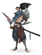 Yasuo Kin of the Stained Blade Concept 07
