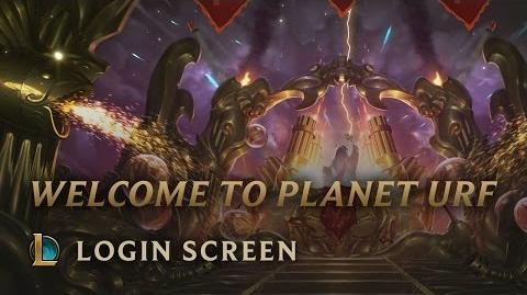 Welcome to Planet Urf - ekran logowania