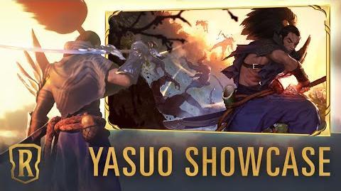 Yasuo Champion Showcase Gameplay - Legends of Runeterra