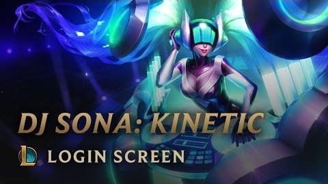 DJ Sona (Kinetyczna) - ekran logowania