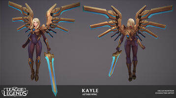 Kayle Update Ätherflügel- Model 01