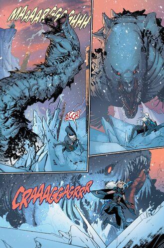 A Grellfeen attacking Ashe.