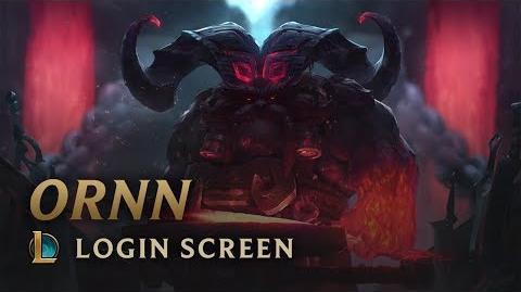 Ornn - ekran logowania