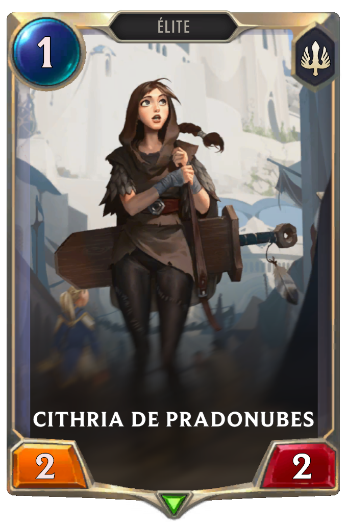Cithria de Pradonubes (Legends of Runeterra)