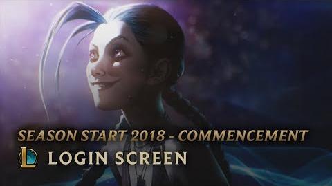 Season Start 2018 - Commencement - Login Screen