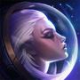 Weltraumtag-Diana Beschwörersymbol
