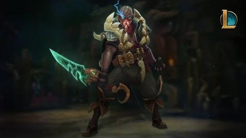 Pyke Die Rache des Schlitzers Champion-Trailer – League of Legends