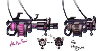 Jinx Waffe Konzept 2