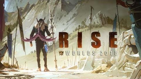RISE (mit The Glitch Mob, Mako und The Word Alive) WM 2018 - League of Legends