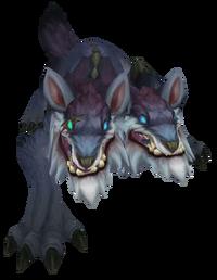 Großer Düsterwolf Render