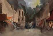 RotS Background Shurima Streets