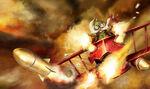 Czerwony Baron Corki chiński obraz