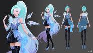 Seraphine KDAALLOUT MORE Concept 01