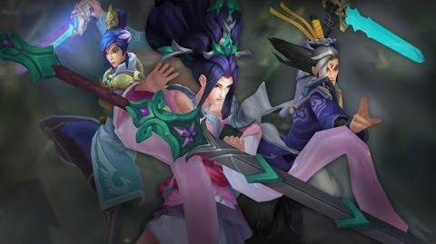 The Quest for the Sacred Sword Immortal Journey 2017 Skins Trailer - League of Legends
