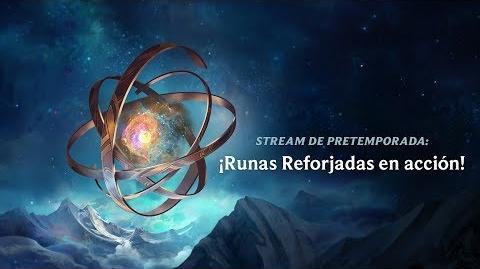 Transmisión de pretemporada ¡Runas reforjadas en acción! - League of Legends