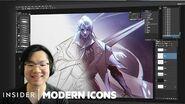 Cómo son ilustrados los campeones de League Of Legends Modern Icons