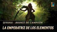 La Emperatriz de los Elementos Avance de campeón de Qiyana - League of Legends