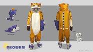 Maokai Meowkai Onesie Concept 01