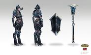 Sejuani Darkrider Concept 02