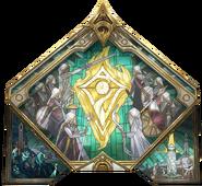 Sentinels of Light Glass Mural