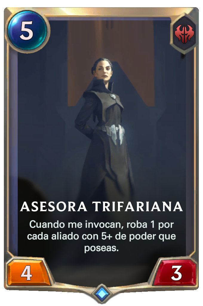 Asesora Trifariana (Legends of Runeterra)