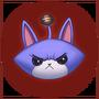 Emotka Zły Kotek