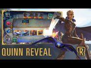 Quinn Reveal - New Champion - Legends of Runeterra