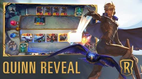 Quinn Reveal New Champion - Legends of Runeterra