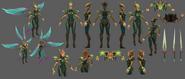 Kayle Update Viridian Model 02