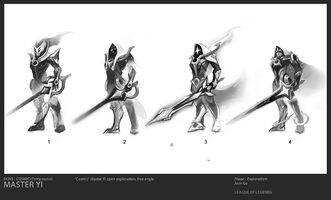 Master Yi Kosmische Klinge Konzept 01