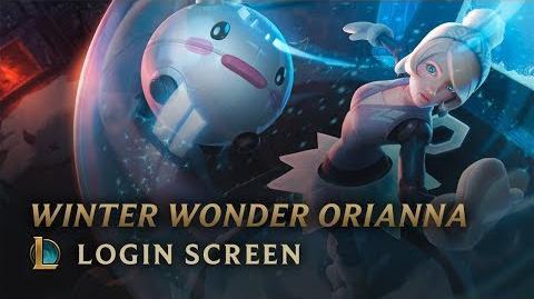 Winter Wonder Orianna - Login Screen