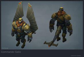 Galio Update Kommando model 01