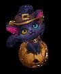 Pumpkin Cat Ward
