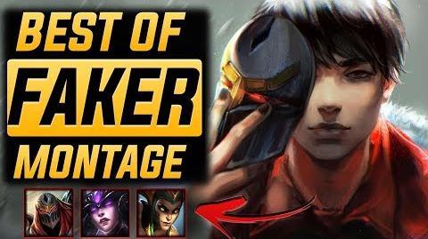 "Faker "" 1 World"" Montage 2017 (Best Of Faker) League Of Legends"