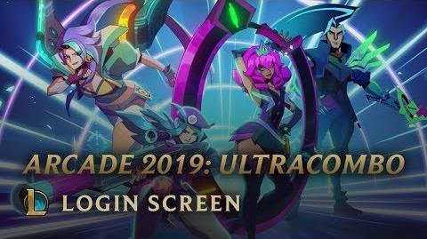 Arcadia 2019 - Pantalla de Inicio