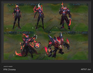 Gangplank Lee Sin Malphite Thresh Vayne FPX Chroma Concept 01