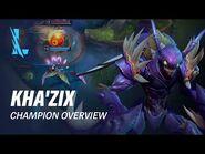 Kha'Zix Champion Overview - Gameplay - League of Legends- Wild Rift