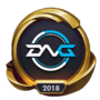Worlds 2018 DetonatioN FocusMe (Gold) Emote
