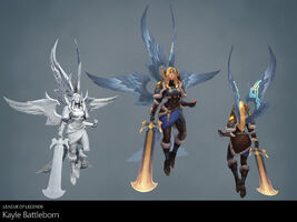 Kayle Update Kampfgeborene Model 01