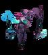 Pretorianin Fiddlesticks (Różowy kwarc)