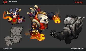 Annie Panda- Konzept 1