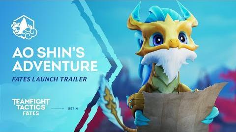 Ao Shin's Adventure Fates Launch Trailer - Teamfight Tactics