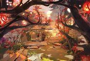 Spirit Bonds Background Spirit Blossom Festival