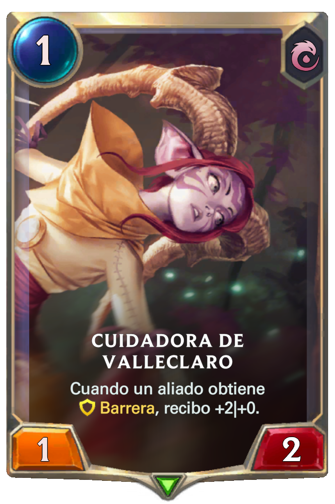 Cuidadora de Valleclaro (Legends of Runeterra)