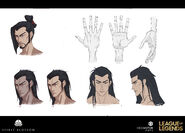 Yone Kin of the Stained Blade Concept 04