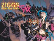 Ziggs and Jinx Paint the Town cover 01