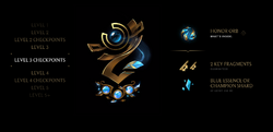 Honor Level 3 Checkpoints Rewards