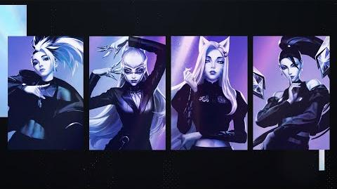 K DA - THE BADDEST ft. (G)I-DLE, Bea Miller, Wolftyla (Official Lyric Video) League of Legends