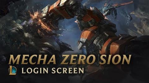 Mecha Zero Sion - Login Screen