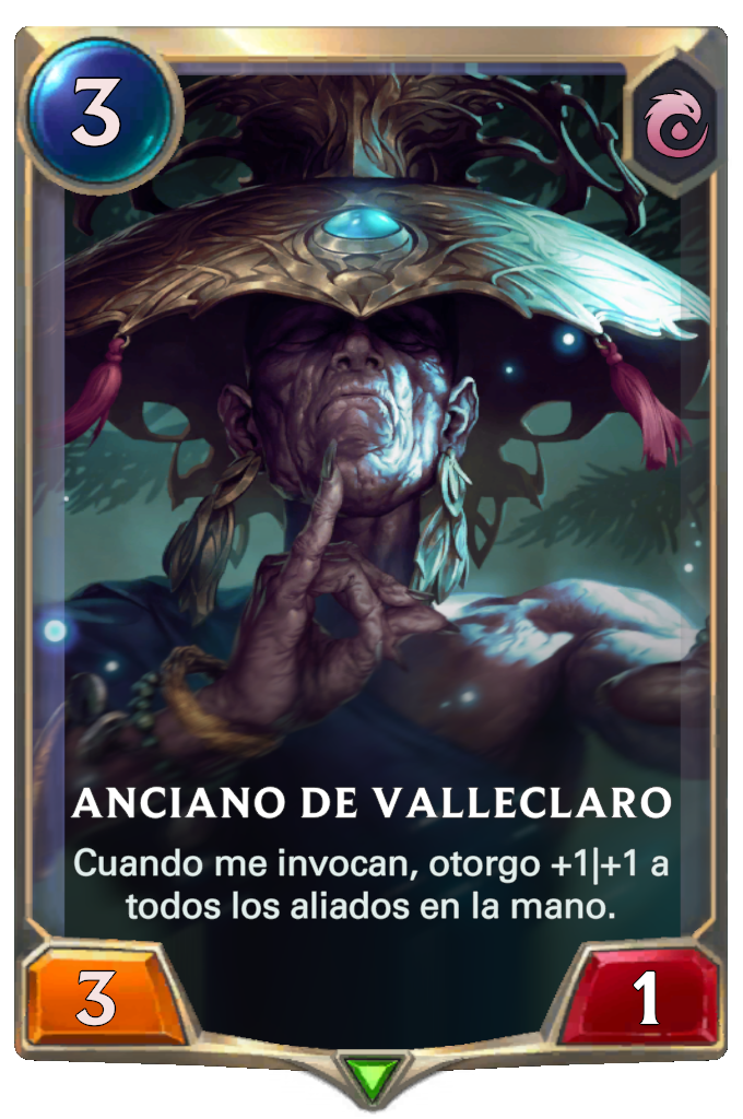 Anciano de Valleclaro (Legends of Runeterra)